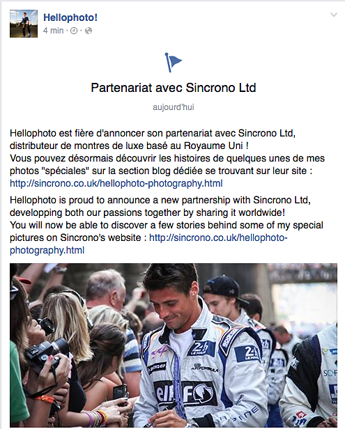 Partenariat Sincrono Ltd
